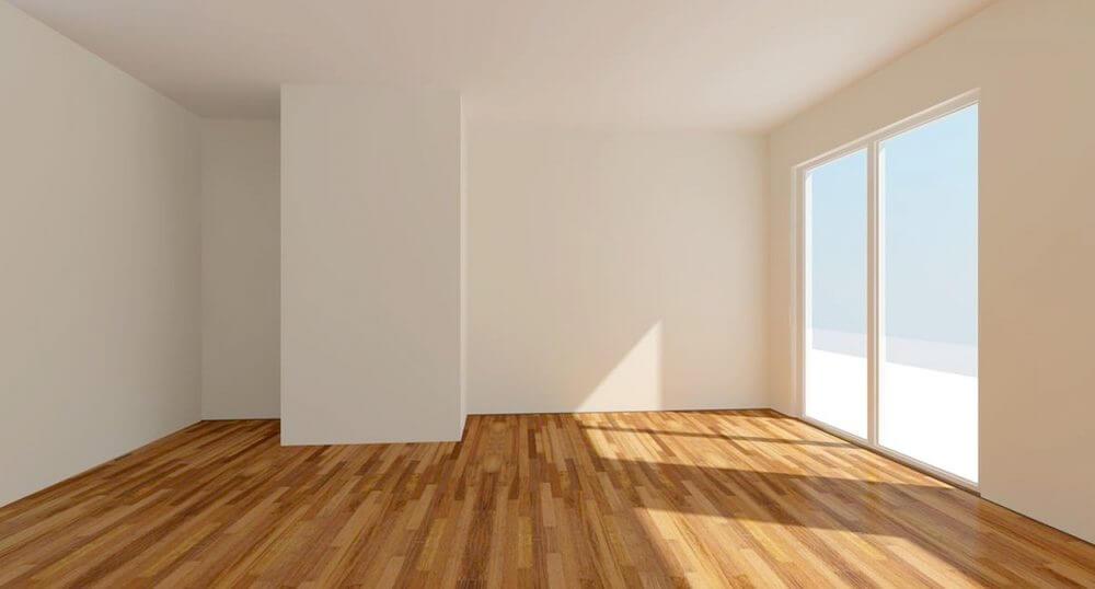 Saniertes Wohnzimmer mit MINECO Farben