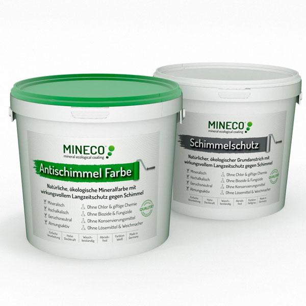 Mineco Antischimmel Farbe Wirkungsvoller ökologischer Langzeitschutz